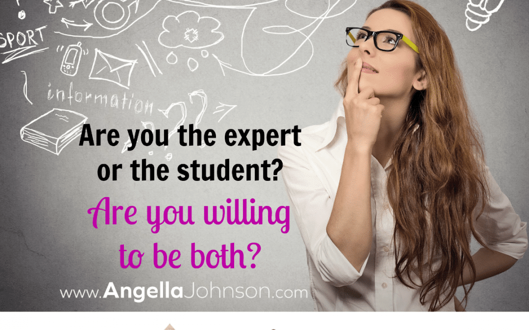 {Soulpreneur Sunday} Are you the expert or the student?