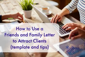 Friends and Family Letter