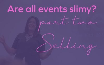 Are all events slimy? Part 2: Selling