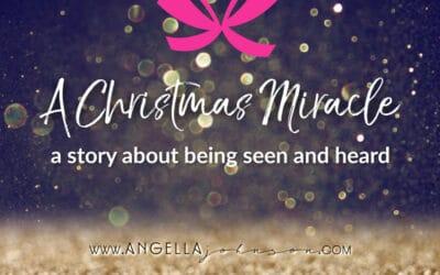 A Christmas Miracle (Kleenex may be handy)